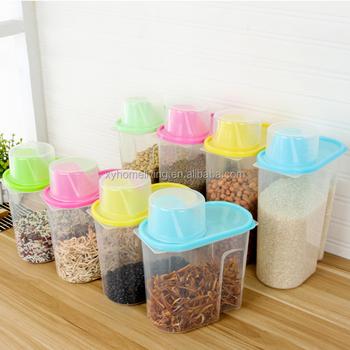 Multi functional Warehouse Set Food Grade Bpa Free Square Plastic