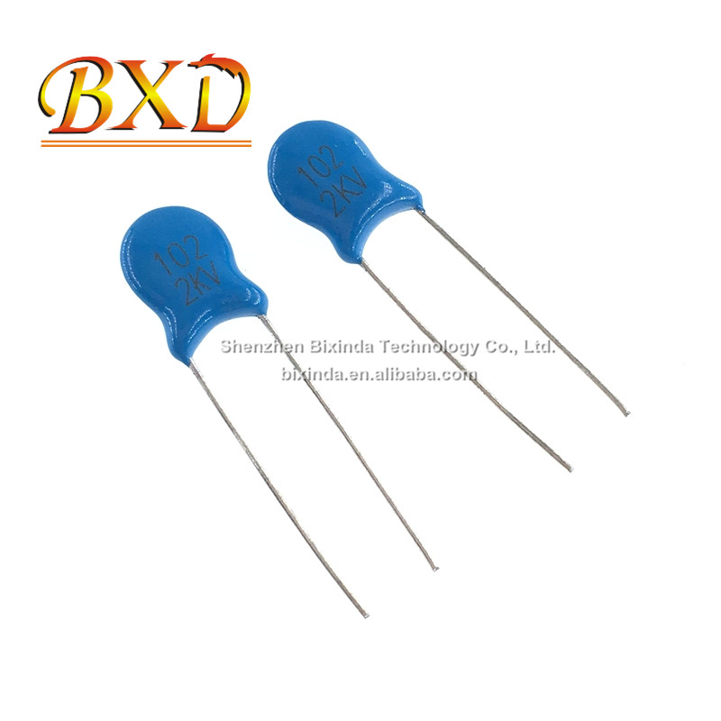 100pcs SMD Ceramic Capacitors 3216 1206 102K 2KV 1NF 1000PF 2000V 10/% X7R