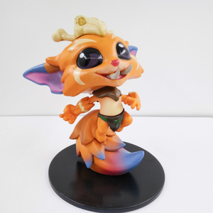 2018 gnar doll cute fire dragon image kids toys PVC toys