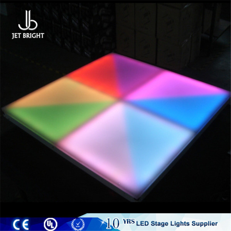 Make a disco light waterproof magic led lyrics dance floor in shenzhen