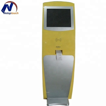 High Quality Touch Screen Kiosk with Thermal Printer