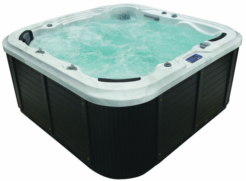 6 Person Whirlpool Spa Jet Massage Comfortable Outdoor Hottub