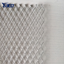304 Stainless steel type micro hole expanded metal mesh with 9 gauge thickness