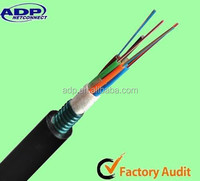 Outdoor GYTS fiber optical cable 2-288 cores Aerial and Duct