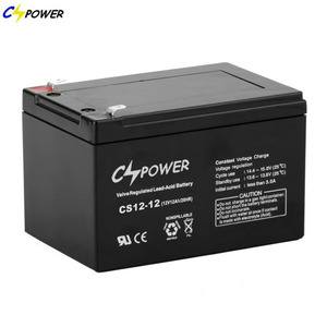 Maintenance Free VRLA Sealed 12v 12ah Lead Acid AGM Battery