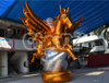 2016 New Inflatable Gilded Pegasus for Outdoor Decoration Advertising