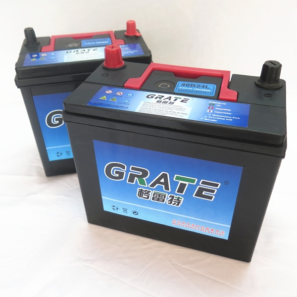 jis standard auto batteries manufacture car battery for japanese car 46B24 12v 45ah ns60 battery