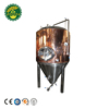 500l Copper Cladding Stainless Steel Fermenter Beer Equipment