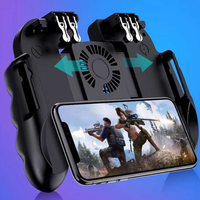H9 Mobile Game Controller Joystick 6 Finger L2R2 Gamepad Joypad Handle Controller 2 in 1