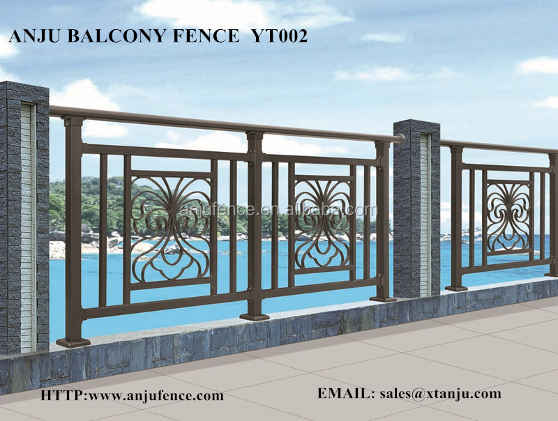 Iron grill design for balcony made in china yt002 buy for Terrace grills design