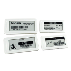 Supermarket epaper digital tag wireless electronic shelf label for shelves