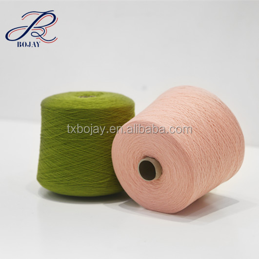 Supplier for Wool Blended Yarn 70% Wool 30% Cashmere Nm 28/2 Dyed Yarn for Knitting