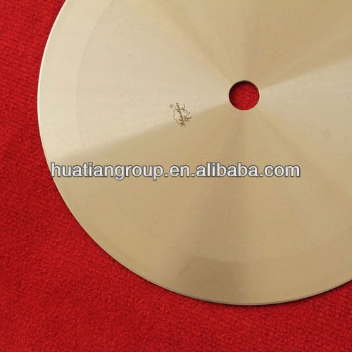 Non-woven fabric, pipe, tape, stickers, corrugated carton, copper foil, standard disc,china supplier circle blade cutter