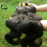 Body Wave Virgin Indian Hair Bulk Remy Human Braiding Hair Bulk No Weft