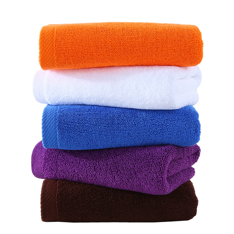 wholesale bath room cheap 100% cotton towels white hand towel