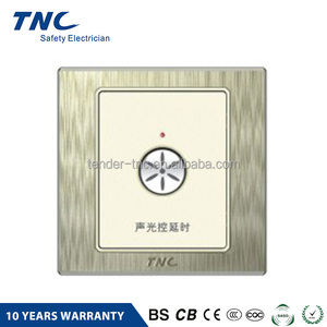 Wholesale Products China sound and light control delay switch