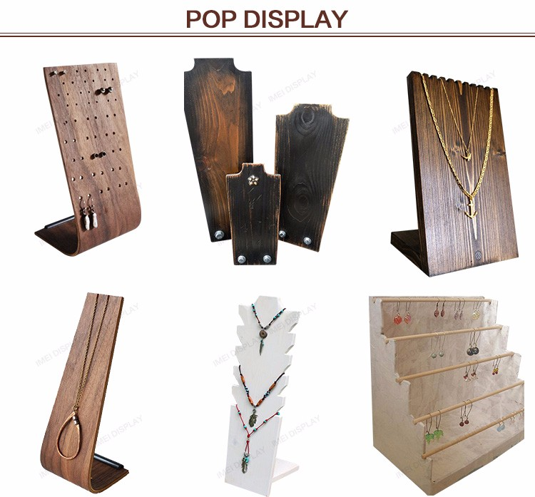 Best Price Handmade Displays Wood Jewelry Display