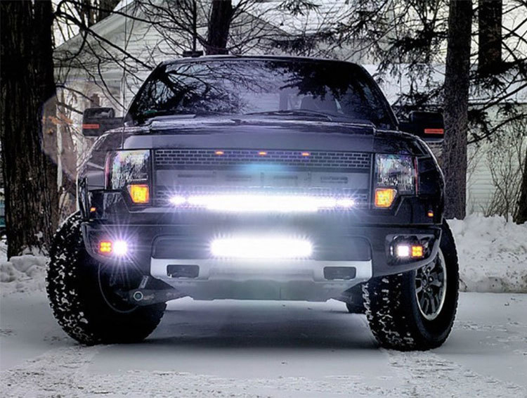 New 20Inch/30Inch/40Inch/50Inch/51Inch Spotlight LED Light Bar 20inch 90W dual rows led light bar for offroad truck