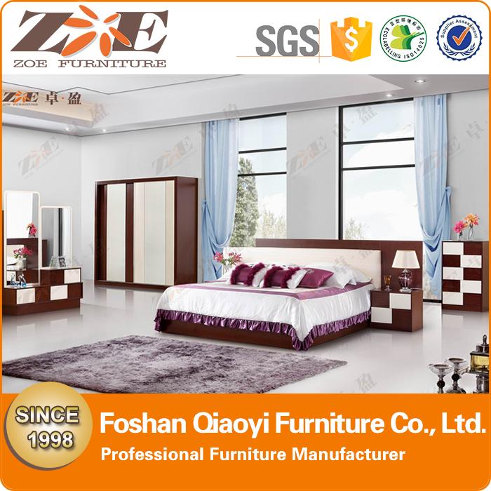 blanco muebles de dormitorio de madera/MDF precio bajo guangzhou ...