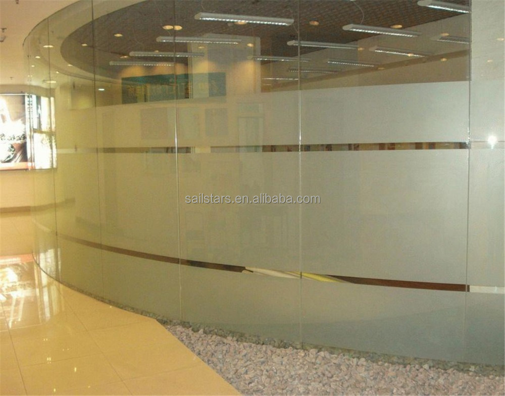 Self Adhesive Frosted Window Film For Home Glass Office Bathroom