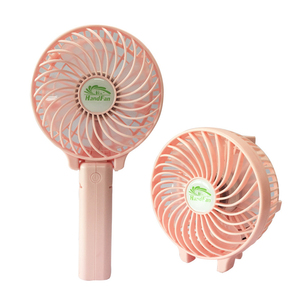 New Arrival Strong Windy USB 18650 Battery Operated Mini Handy Fan with Clip for Summer Outdoor