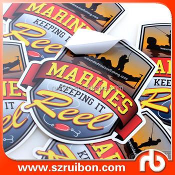 Custom stickers paper vinyl die cut stickers printing high quality vinyl sticker factory in shenzhen