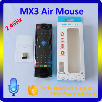 4b47e724754 Remote control for android tv box MX3 fly air mouse support OEM arabic  keyboard