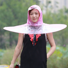 New Arrival Portable UFO Cap Umbrella Automatic Folding Umbrella Creative Gifts Umbrella Student Woman Man Rain Hat