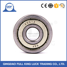 Linqing China maufacturer deep groove ball bearing 6301 6302OPEN ZZ RS
