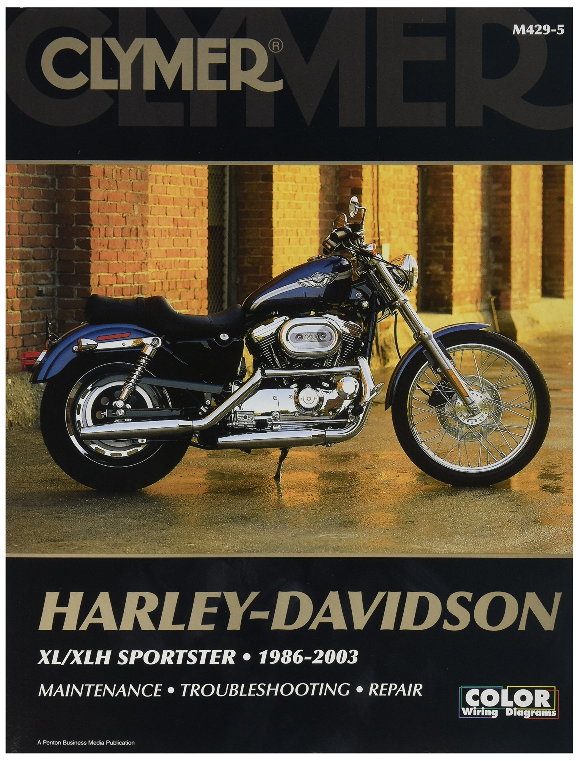 Cheap Sportster Custom Parts Find Deals On 2012 Harley Road Glide Wiring Diagram Get Quotations Clymer Davidson Xl 04 06 Manual M427 1