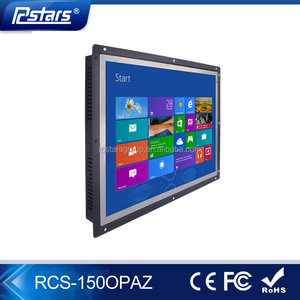 15'' Android Tablet / Open frame digital signage and lcd advertising display restaurant menu board