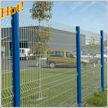White Pvc Coated High Tensile 1 8m Welded Wire Mesh Fence