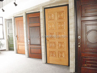 Supply high quality turkish style steel wood armored security door