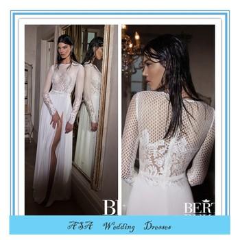 Mermaid Wedding Dresses 2015 Long Sleeves