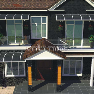 Commercial high quality outdoor awnings/aluminum awings canopies for windows