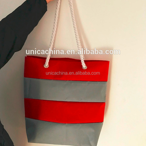 TCCC audity factory SEDEX/BSCI fashion charm joint canvas beach bags yiwu China dropship company