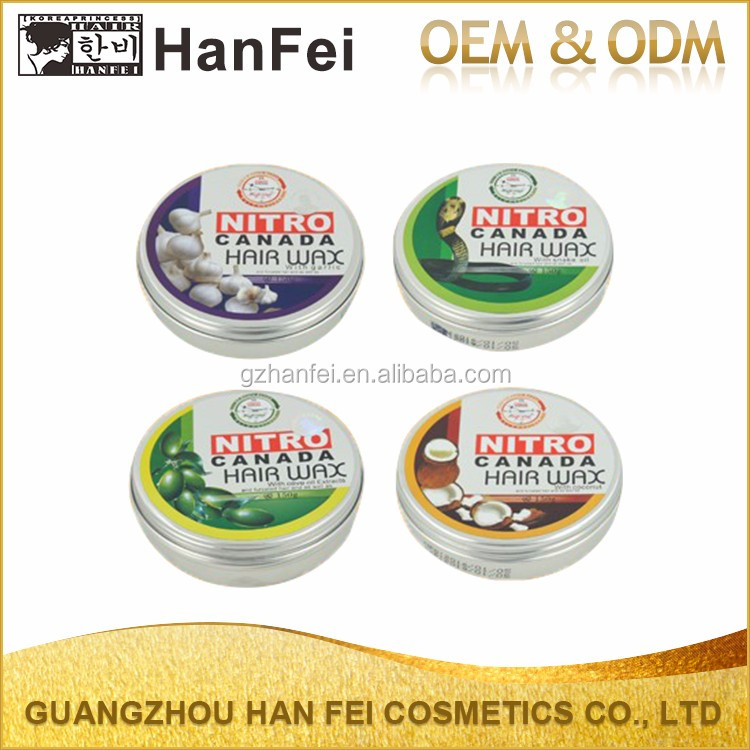 2017 Long Lasting Shine Fashion Professional Olive Hair Wax