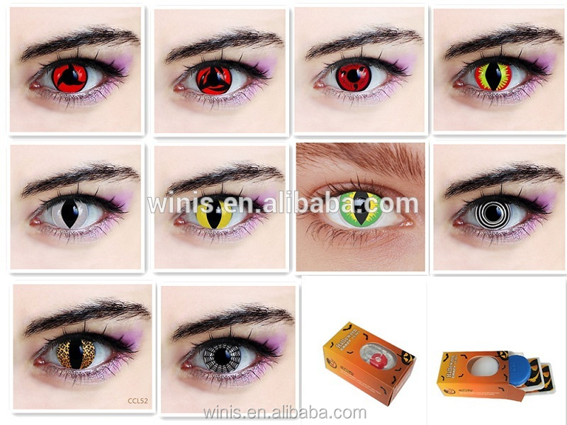 wholesale colored contacts red and black cosmetics korean lenses