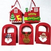 Christmas santa claus snowman Elk christmas diy candy felt bag
