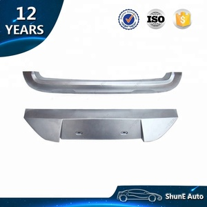 Stainless Steel New Arrive Front and Rear Skid Plate For Eco sport 2013 2014-2017 Bumper guard protection Auto accessories