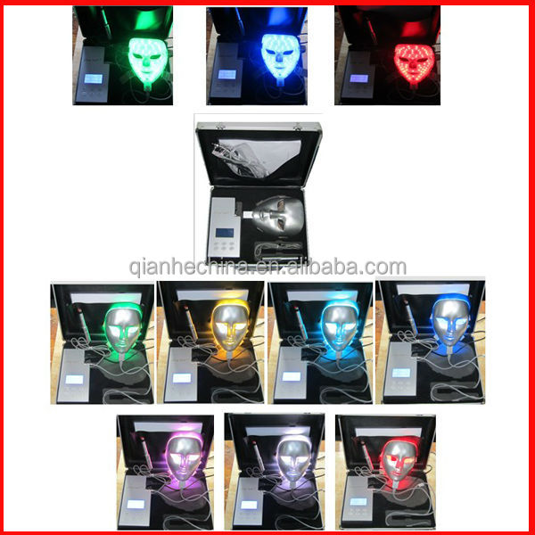 7 colors facial mask pdt led therapy