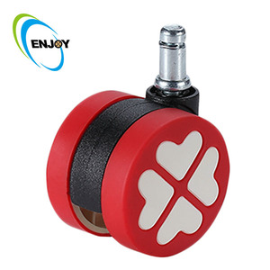 new removable plate foot master rubber caster roller wheel