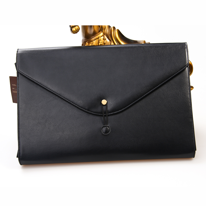 Bestselling Manufacture Price A4 Leather Envelope Document Folder Organizer