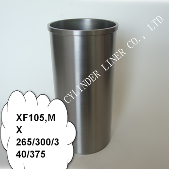 Automobile Engine Parts Cylinder Liner Used For Daf Xf105 Mx 265 300 340