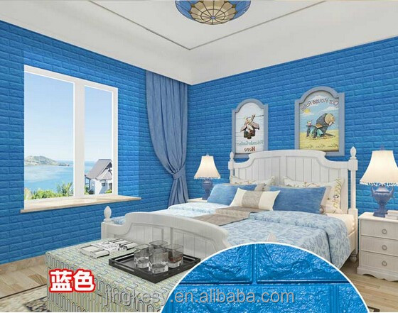 3d muur baksteen voor slaapkamer/3D baksteen wall panel muur behang ...
