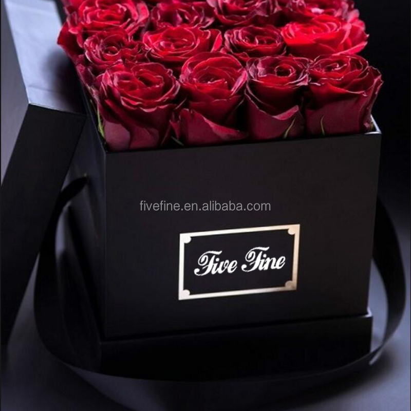 Hot Sale Valentine Gifts Flower Cardboard Rose Boxes Buy Cardboard