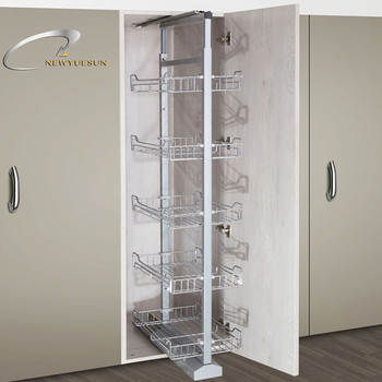 450mm Pull Out Tall Pantry Organizer