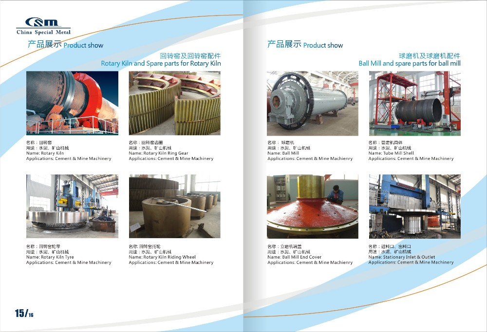 CSM customized water turbine runner with ISO9001:2008