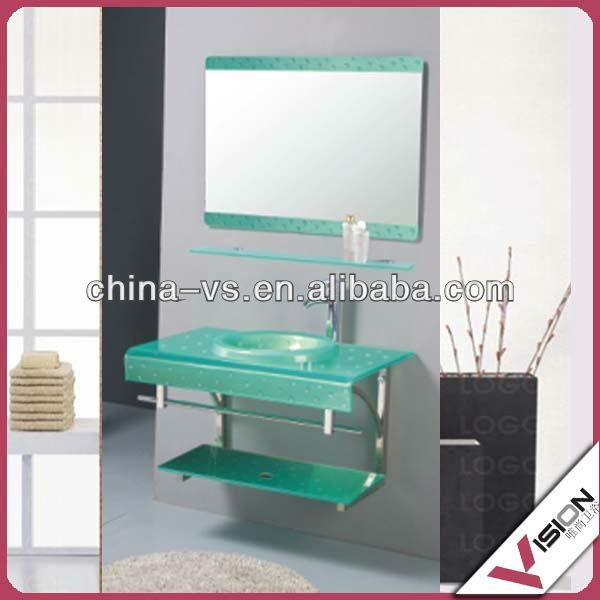 Lavamanos cristal lavamanos cristal redondo barcelona lavabos de cristal brand new pulido del - Lavabo de vidrio ...