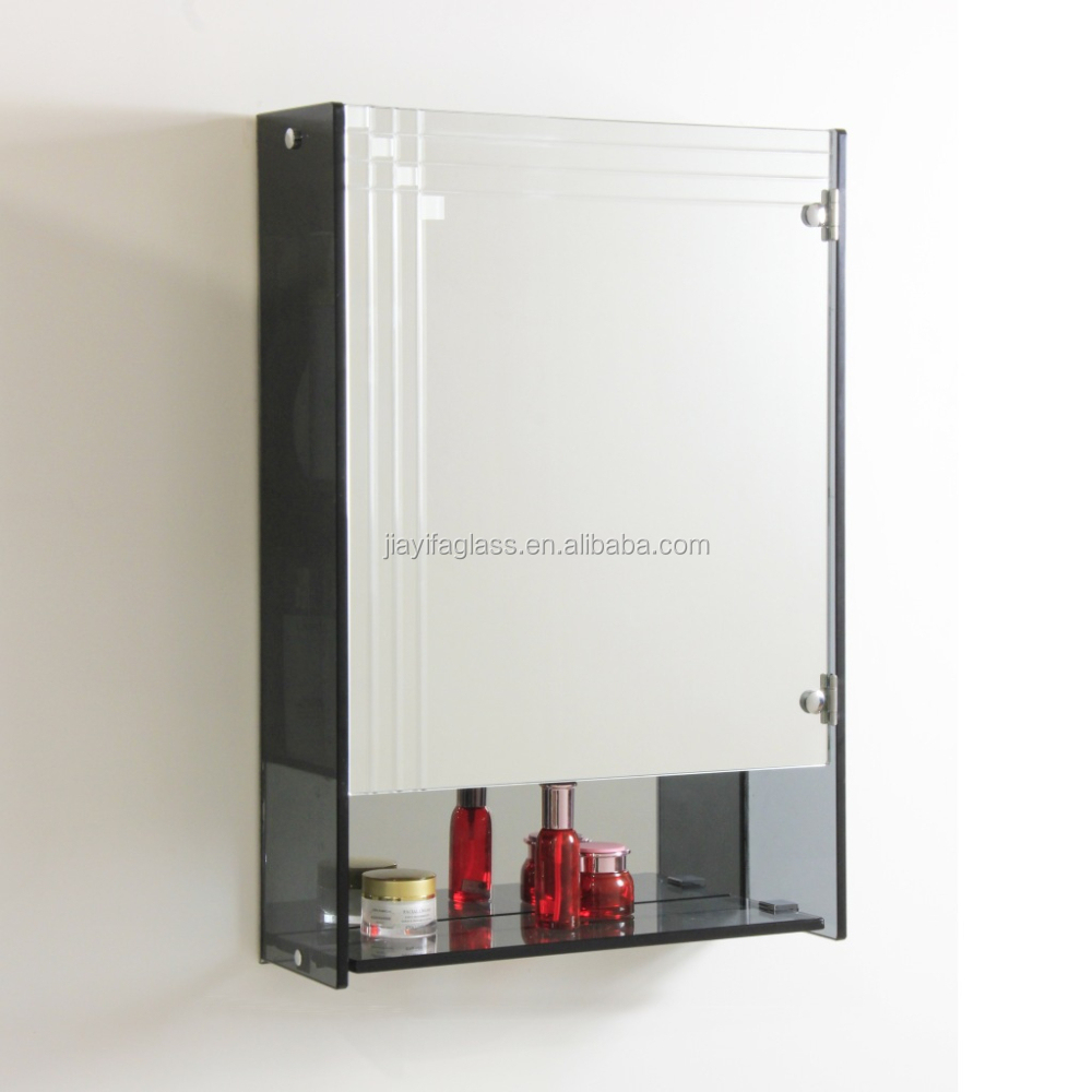 Estanterias de vidrio templado de deslizamiento ba o for Gabinete de almacenamiento de bano barato